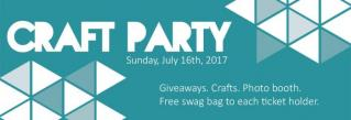 Craft Party 2017